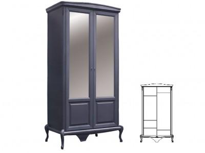 """Шкаф 2 двери """"Мокко"""""""