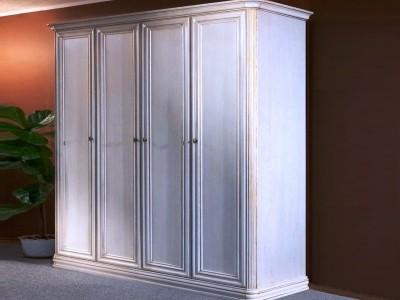Шкаф 4 двери  прямой